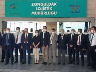 Tcdd Tasimacilik general manager Yazıcı continues his business visits