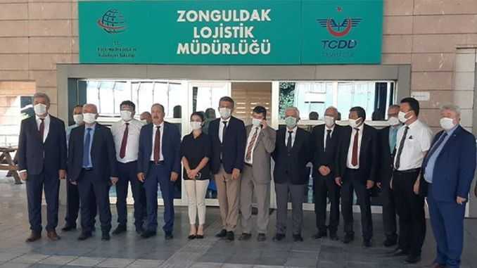 Tcdd Tasimacilik general manager Yazıcı continues his business visits