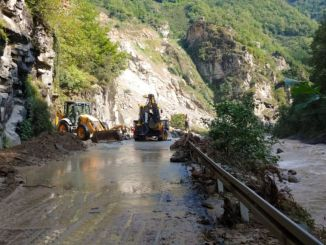Renovation Works Started to Renovate Flood Damaged Roads in Giresun