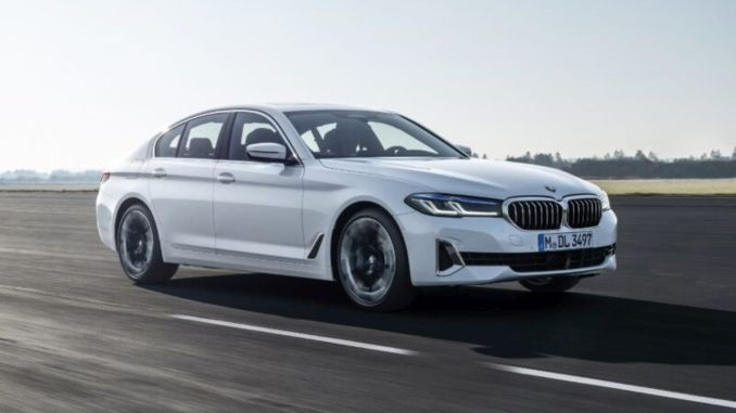 In August, the new BMW series turkey road