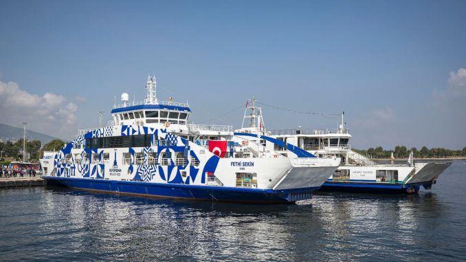 انتهت فترة الانتظار في النقل البحري في إزمير
