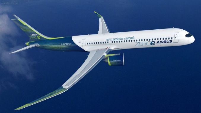 Airbus annoncerer nyt nulemissionskonceptfly