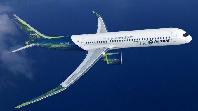 Airbus оголошує про нову концепцію літаків з нульовим викидом