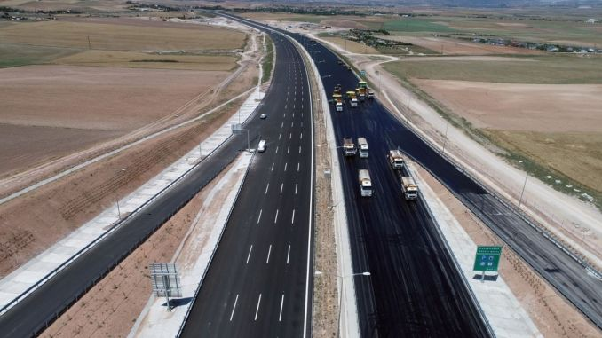Nearly 10 Thousand Vehicles Passed by Ankara Niğde Highway on the First Day