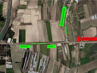 El mantenimiento se realizará en Antalya Serik Road