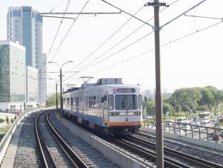دمج خطوط Ataköy İkitelli ومترو المطار في Yenibosna