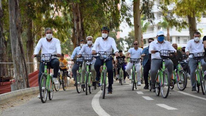 Ang Pagbisita sa Bisikleta nga Paghimo sa Tarsus panahon sa European Mobility Week