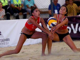 Mañana comienzan los partidos del primer día del Campeonato de Europa de voleibol de playa en Selçuk