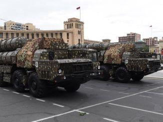 Azerbaijani Army Destroys Armenia's S300 Air Defense System