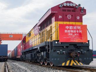 China macht Aserbaidschans Hauptstadt Baku zu einem Logistikzentrum