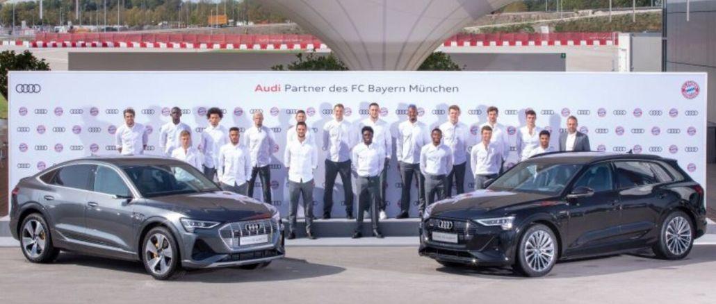 Bayern Münih, Elektrikli Audi Kullanacak