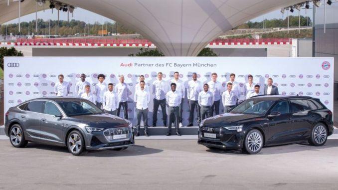 Bayern Münih Elektrik Audi istifadə edəcək