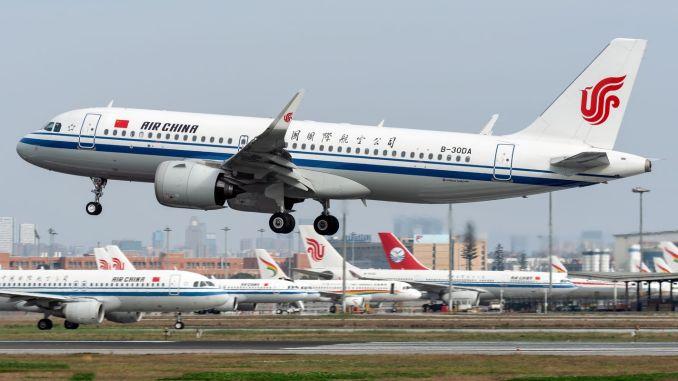 Китай достига предпандемично ниво с 13 XNUMX полета дневно
