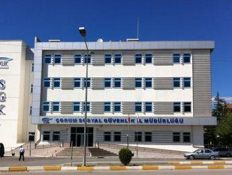 Къде е провинциалната дирекция Çorum SGK? Informationorum SGK Информация за контакт