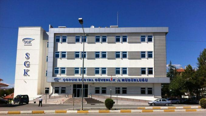 Where is Çorum SGK Provincial Directorate? Çorum SGK Contact Information