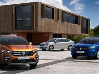 Dacia's Iconic Models Sandero, Sandero Stepway and Logan Refresh