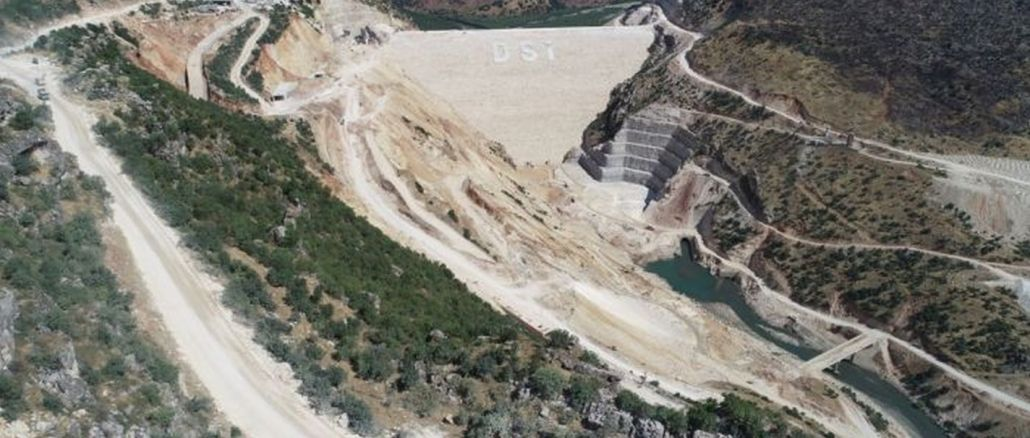 An Important Threshold Was Passed In The Silvan Dam, The Crazy Project Of Diyarbakır