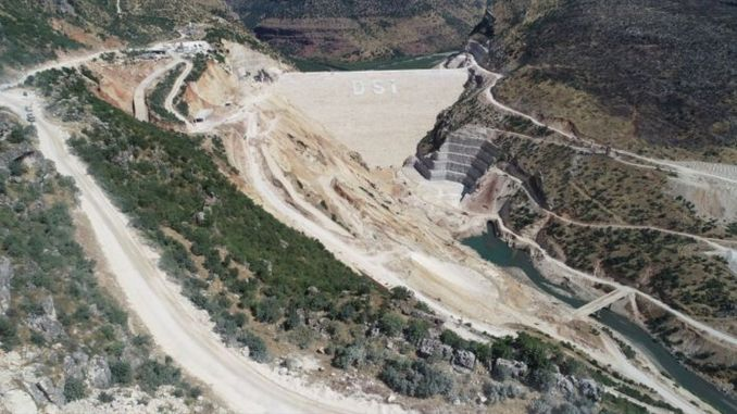 Una soglia importante è stata superata alla diga di Silvan, il progetto folle di Diyarbakır