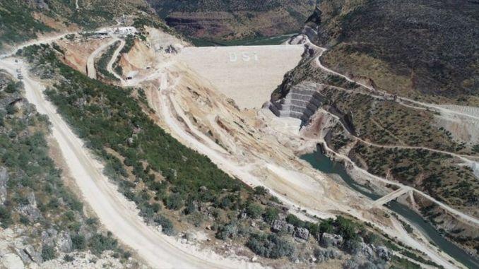 Fontos küszöböt túlléptek a Silvan-gátnál, Diyarbakır őrült projektjénél