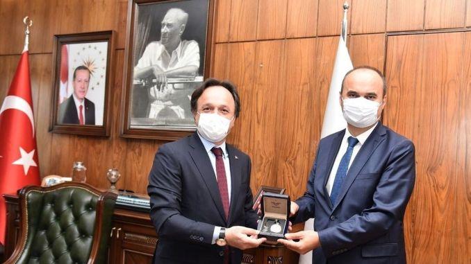 Губернатор Канальп в Эдирне посетил генерального директора TCDD Уйгуна