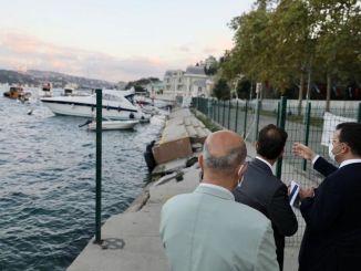 Ekrem İmamoğlu vizsgálata a Bebek parkról