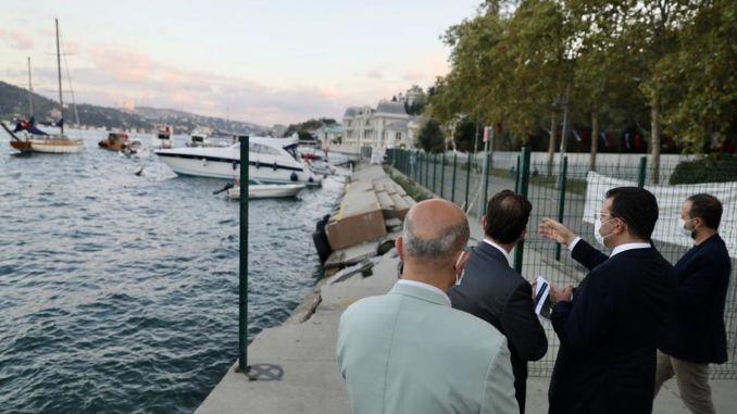 Een overzicht van Bebek Park door Ekrem İmamoğlu