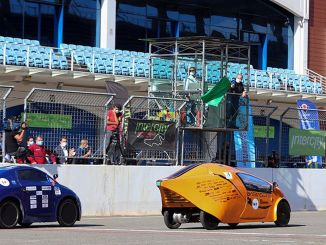Electric Vehicle Races at Istanbul Park F1 Track