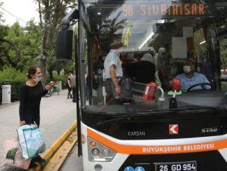 Prețurile biletelor de autobuz rural au fost modificate în Eskișehir