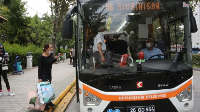 Rural Bus Ticket Prices Have Been Changed in Eskişehir