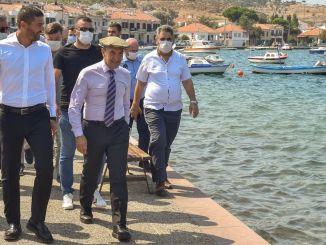 Foça Walls Kordon Road Project Starts