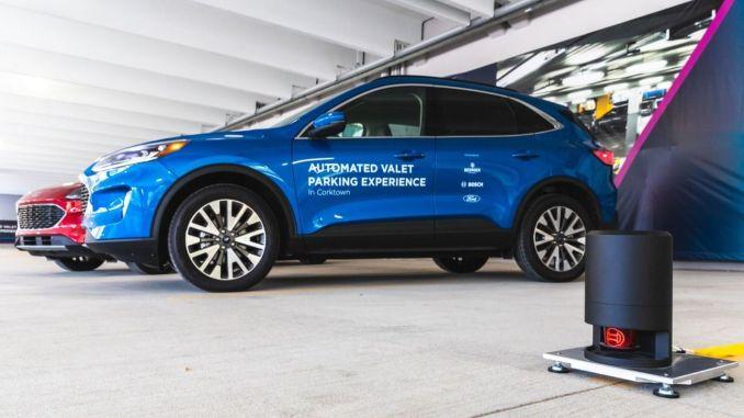 Ford, Bosch и Bedrock въвеждат автономна услуга Vale
