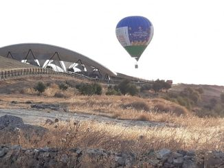 Promotional Flight of the Hot Air Balloon was Made in Göbeklitepe