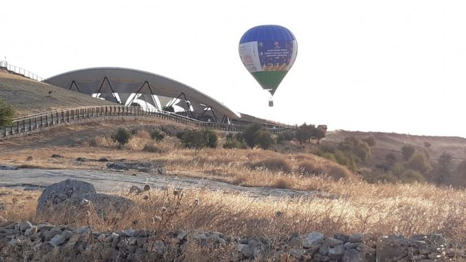 Le vol promotionnel de la montgolfière a été réalisé à Göbeklitepe