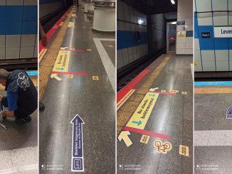 İstanbul'da Metroda Bisikletlilere Özel Vagon