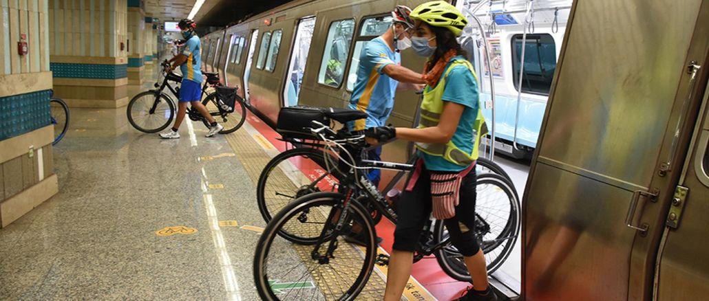 İstanbul'un Metroları Artık Bisiklet Dostu