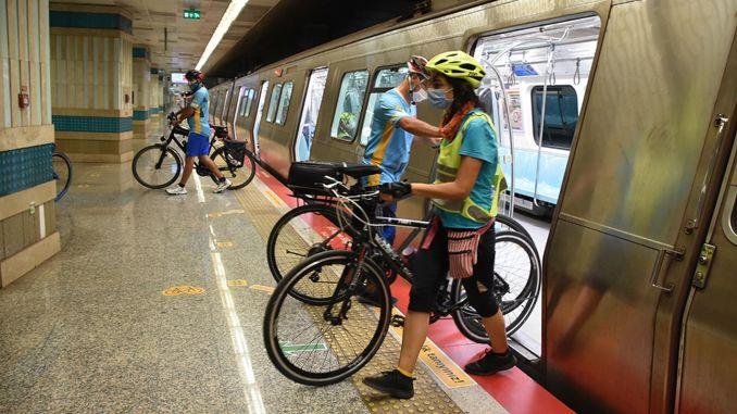 Istanbuls undergrundsbaner er nu cykelvenlige