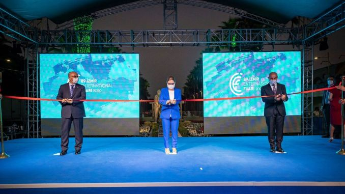 Izmir International Fair Opened for the 89th Time