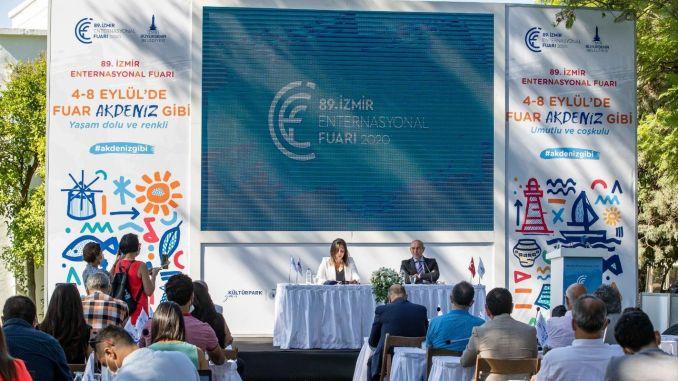 İzmir Enternasyonal Fuarı Salgına Karşı Tüm Tedbirler Alınarak Açılıyor