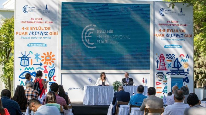 Izmir International Fair Opens With All Precautions Against The Epidemic