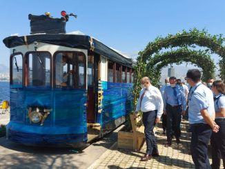 İzmir'in İlk Nostaljik Tramvayı 9 Eylül'de Sefere Başlıyor