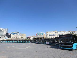 انضمت 24 حافلة جديدة إلى أسطول النقل في قيصري