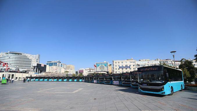 24 Bus Baru Bergabung dengan Armada Transportasi Kayseri