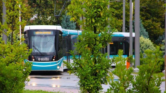 Tram sa Izmit City Hospital