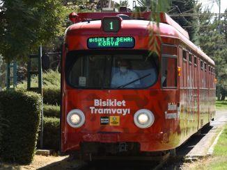 Ilmoitus Konya Metropolitanin polkupyörän raitiovaunusta!