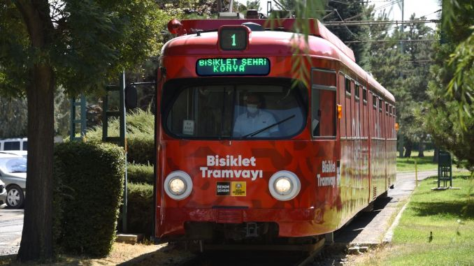 Announcement of Bicycle Tramway from Konya Metropolitan!