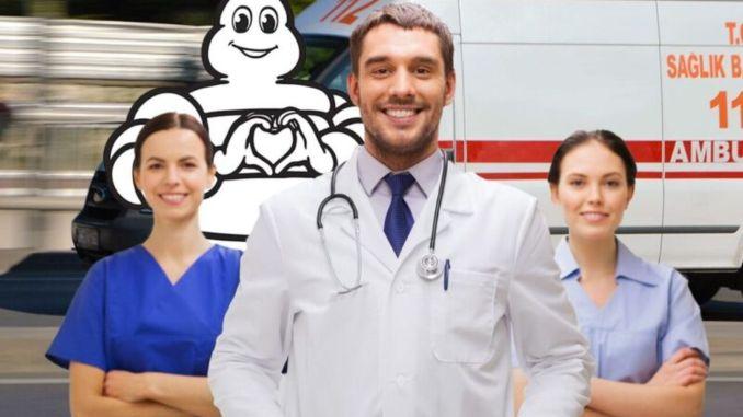 Специальная дезинфекция транспортных средств для медицинских работников от Michelin и Euromaster