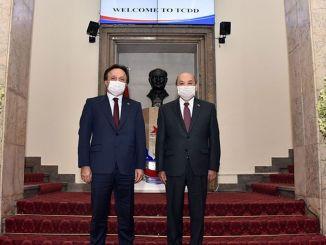 Visita de la Embajada de Mongolia al Gerente General de TCDD, Uygun