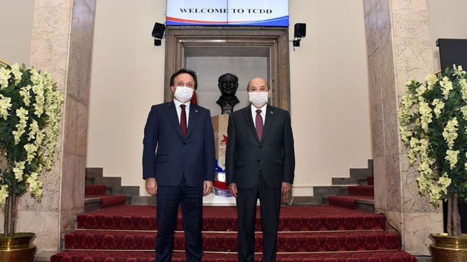 Visit from Mongolian Embassy to TCDD General Manager Uygun