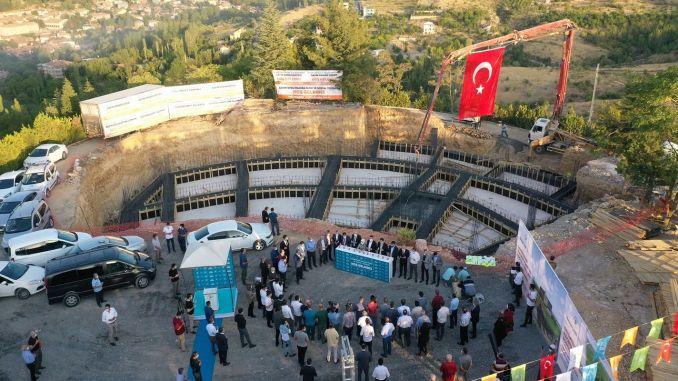 Se construirá un teleférico entre las instalaciones sociales de Şahintepesi y Gedik