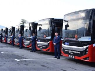 Public Transportation Line Routes Updated in Samsun